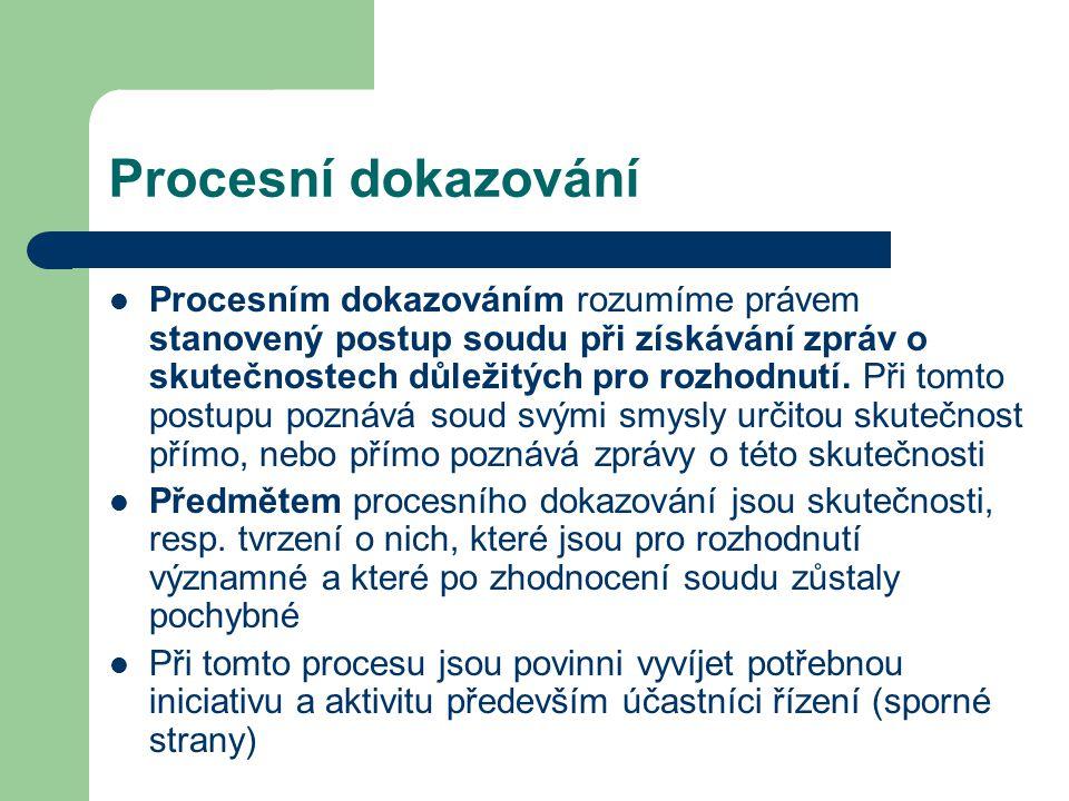 Procesní dokazování