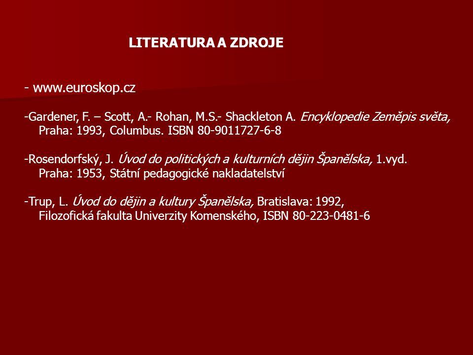 LITERATURA A ZDROJE - www.euroskop.cz
