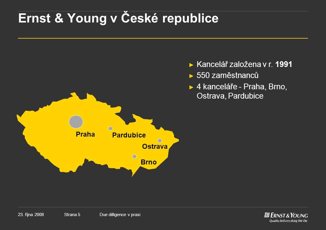 Ernst & Young v České republice