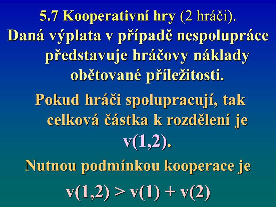 5.7 Kooperativní hry (2 hráči).