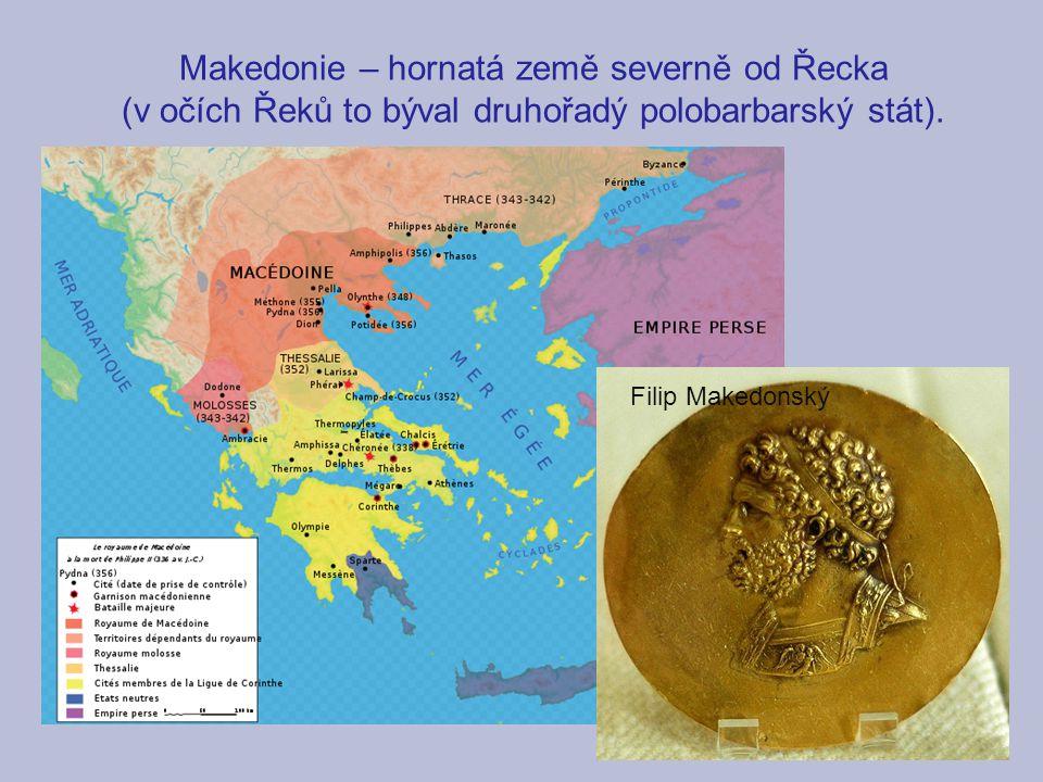 Makedonie – hornatá země severně od Řecka