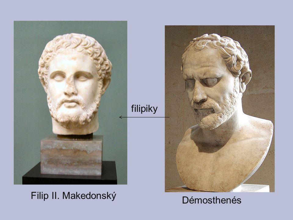 filipiky Filip II. Makedonský Démosthenés