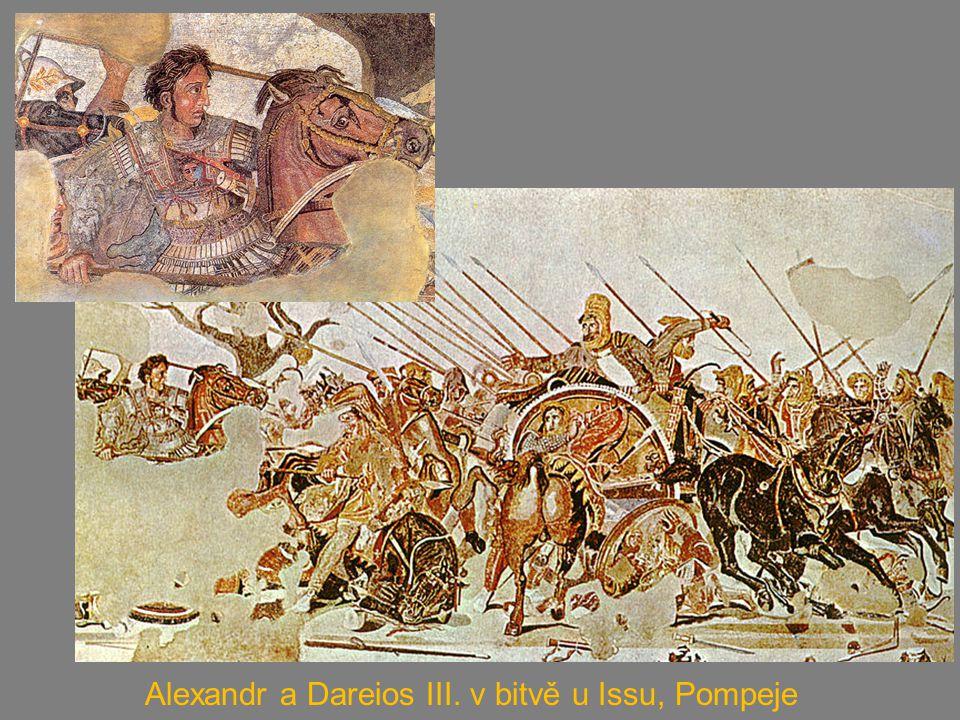 Alexandr a Dareios III. v bitvě u Issu, Pompeje