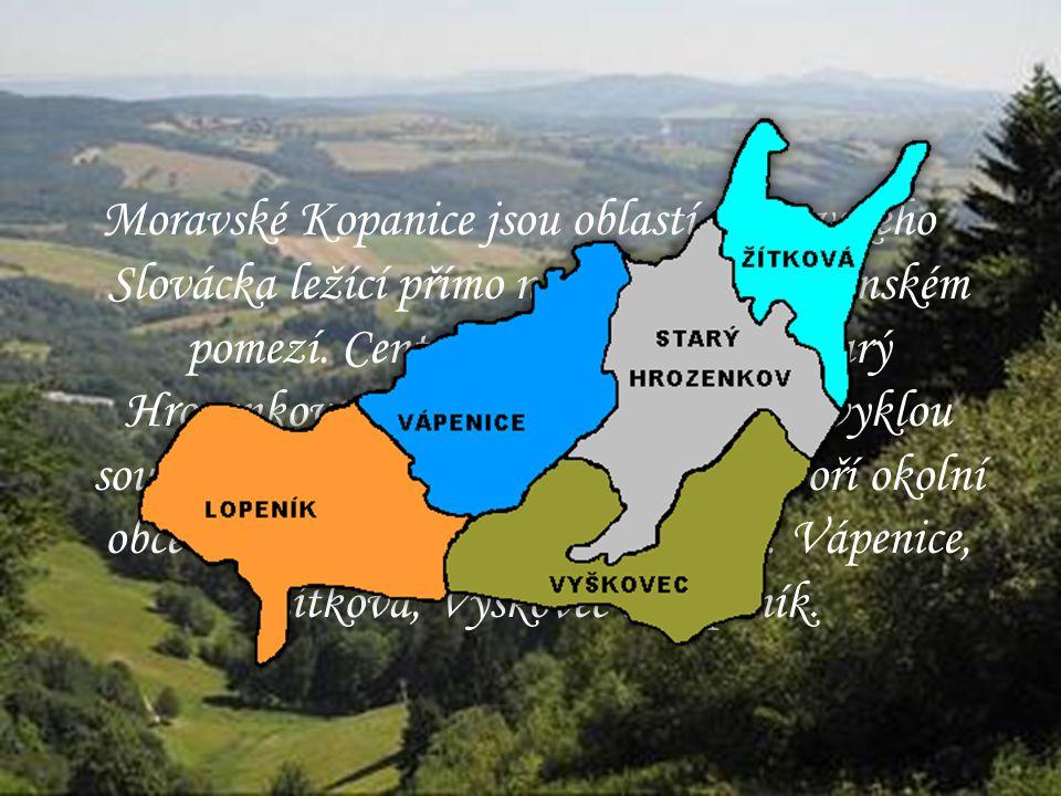 Moravské Kopanice jsou oblastí Moravského Slovácka ležící přímo na moravsko-slovenském pomezí.