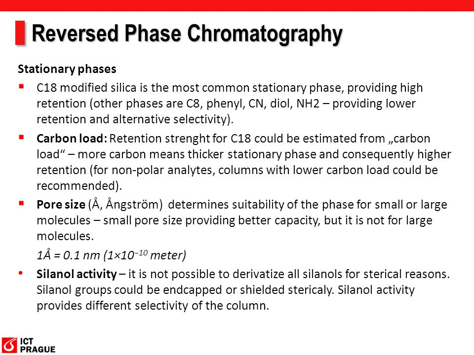 Reversed Phase Chromatography