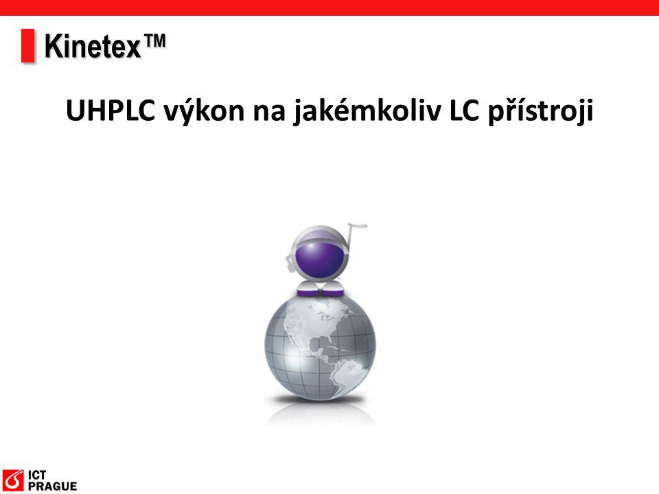 UHPLC výkon na jakémkoliv LC přístroji