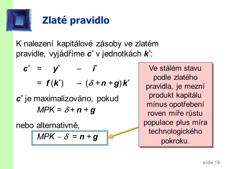 V čem je Solowův model užitečný
