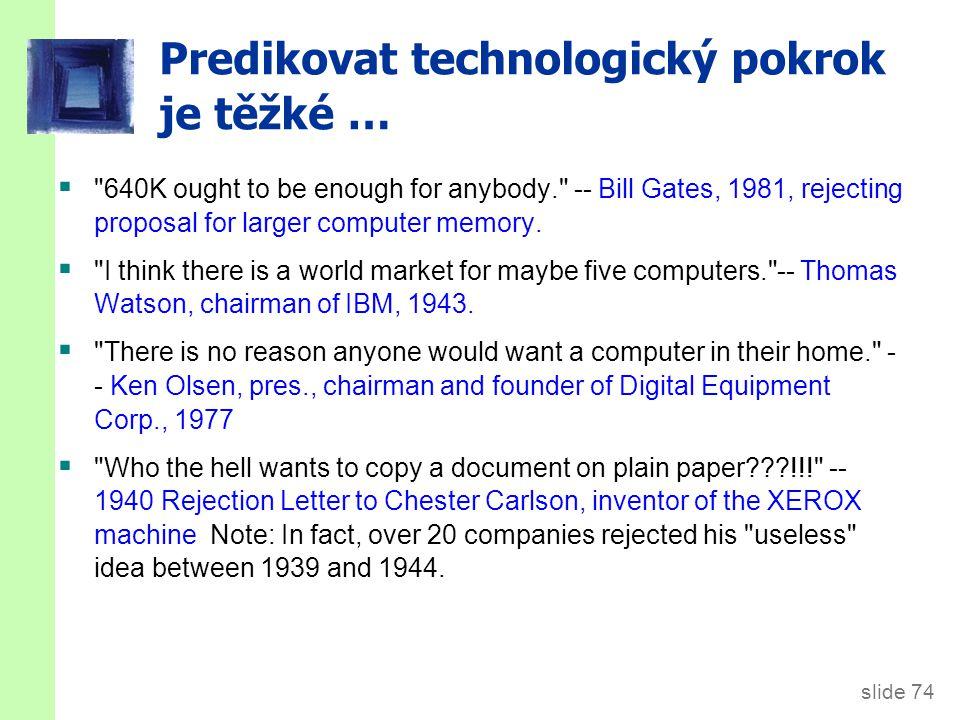 Shrnutí 1. Klíčové závěry ze Solowově modelu s technologickým pokrokem