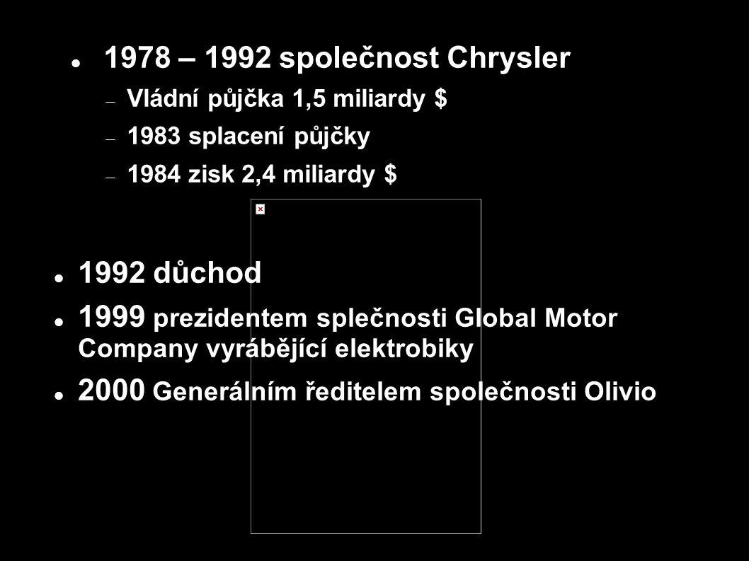 2000 Generálním ředitelem společnosti Olivio