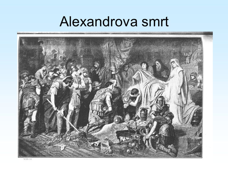 Alexandrova smrt