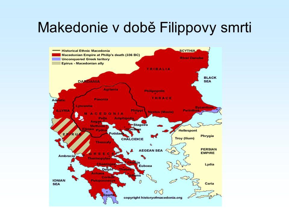 Makedonie v době Filippovy smrti