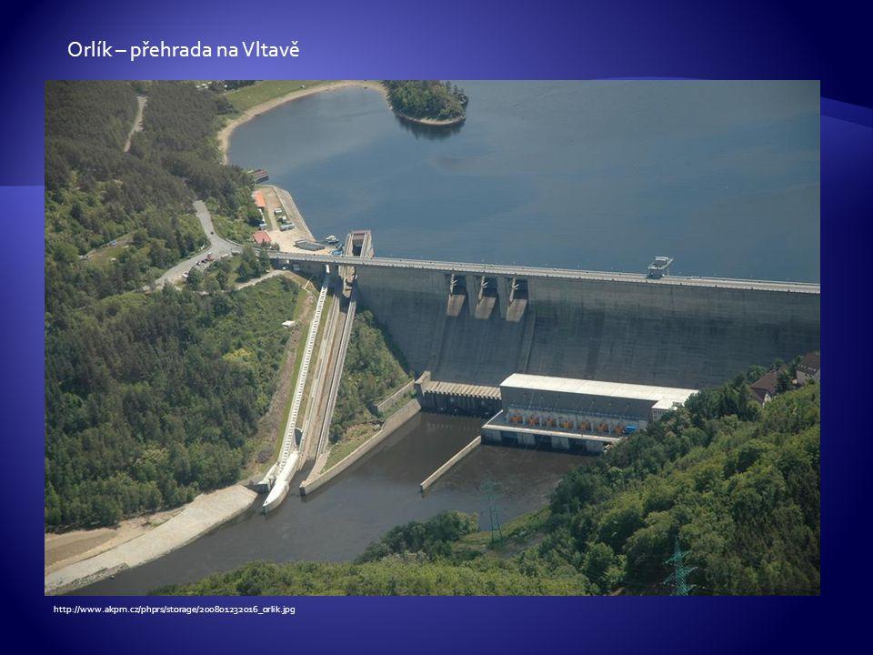 Orlík – přehrada na Vltavě