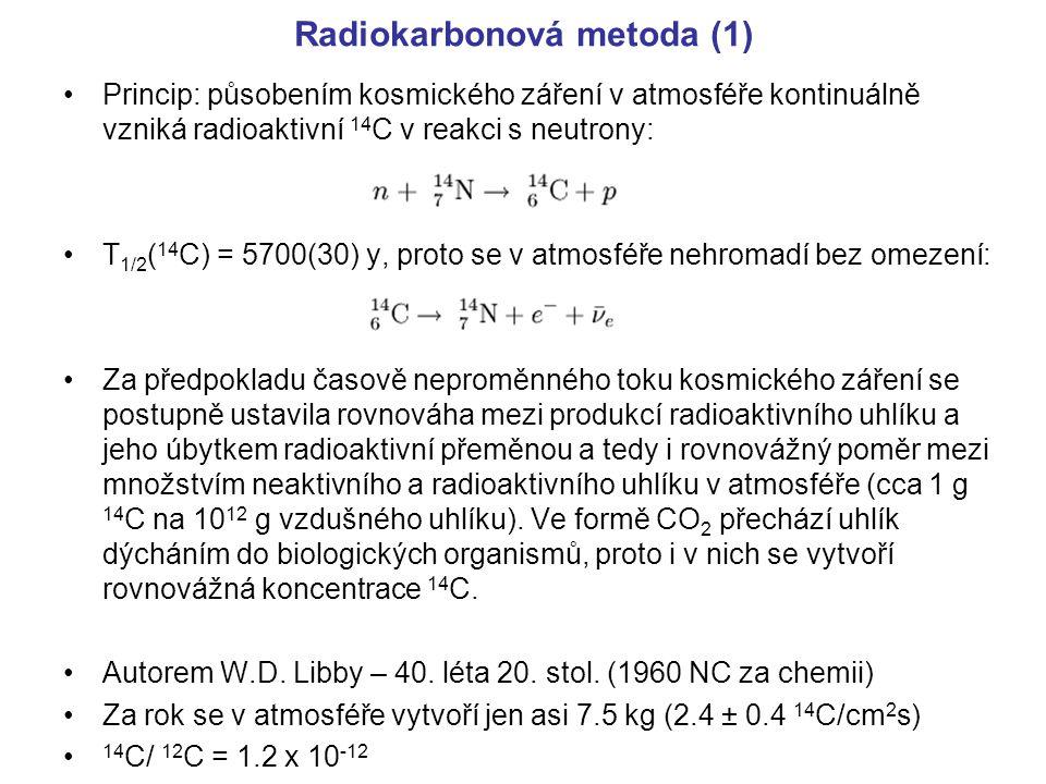Radiokarbonová metoda (1)