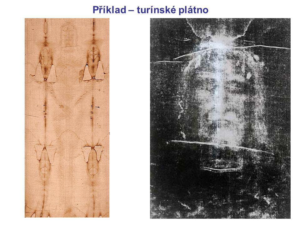 Příklad – turínské plátno