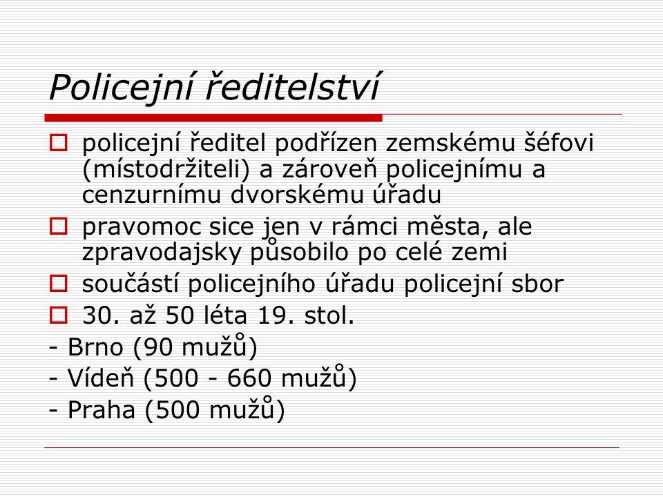 Policejní ředitelství