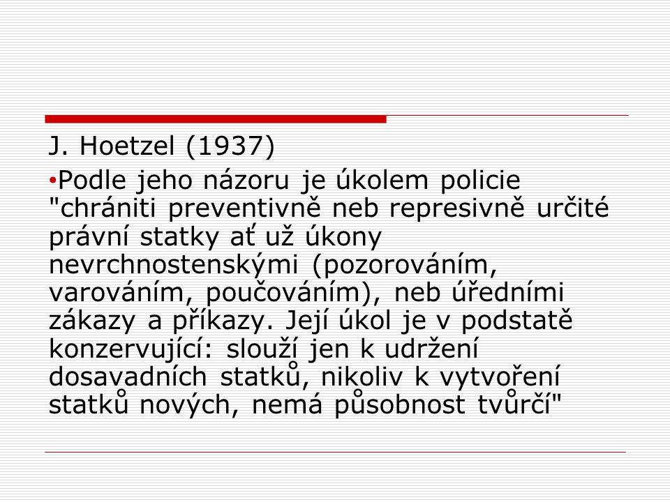 J. Hoetzel (1937)