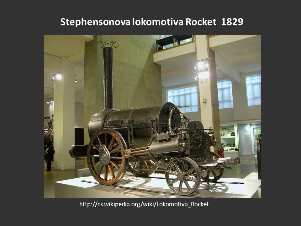Stephensonova lokomotiva Rocket 1829