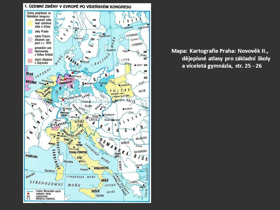 Mapa: Kartografie Praha: Novověk II