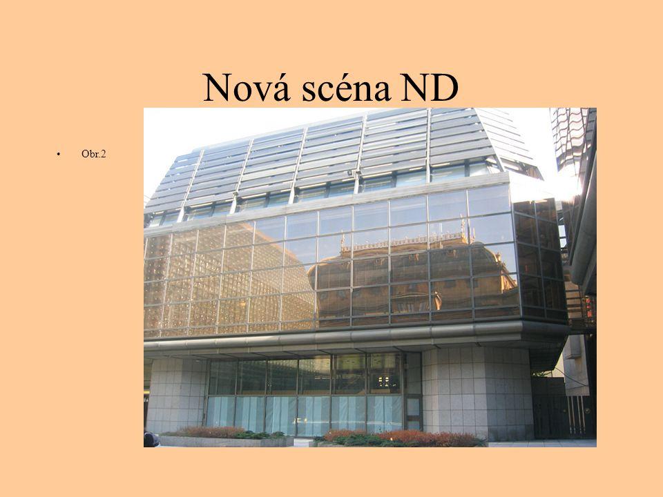 Nová scéna ND Obr.2