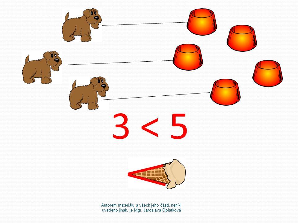3 < 5 Autorem materiálu a všech jeho částí, není-li