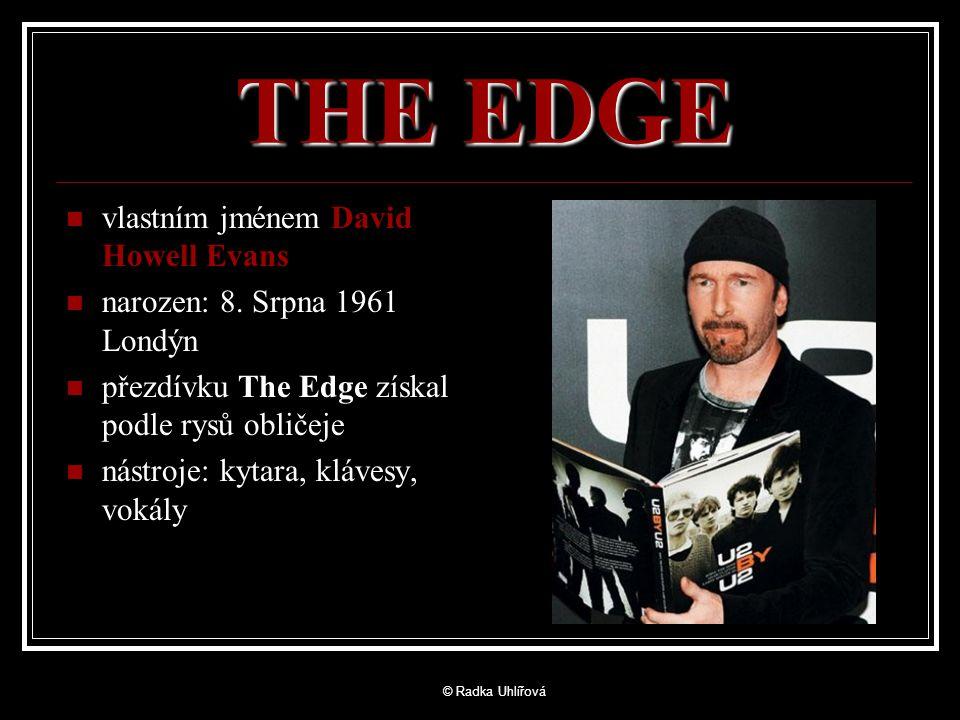 THE EDGE vlastním jménem David Howell Evans