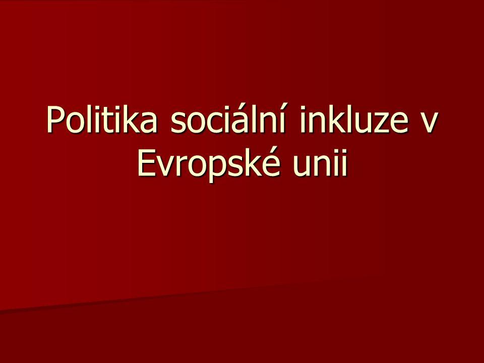 Politika sociální inkluze v Evropské unii