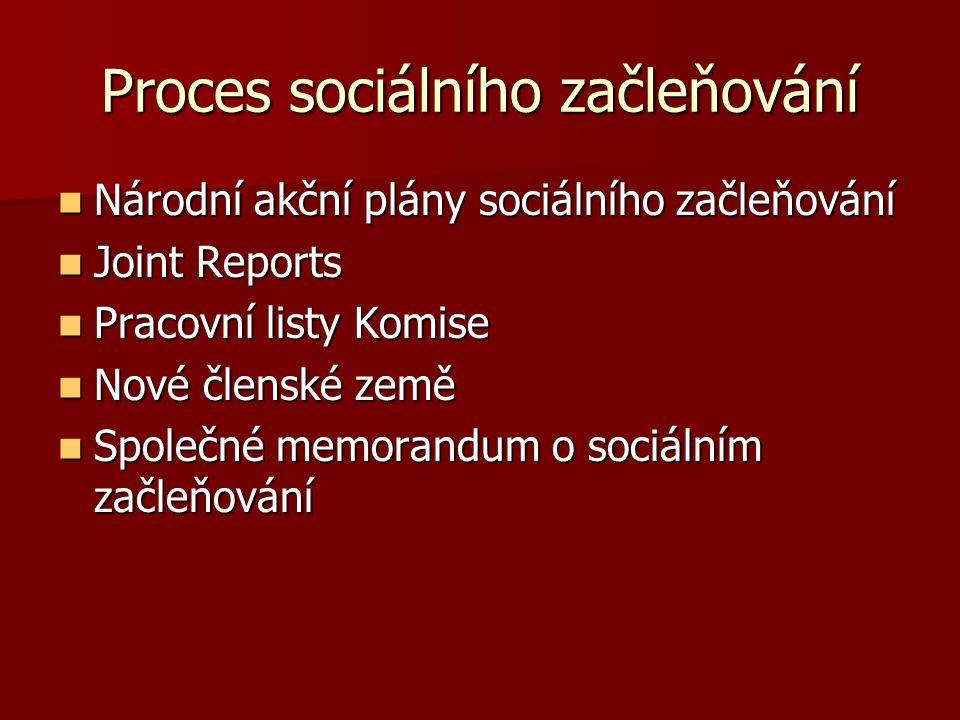 Proces sociálního začleňování