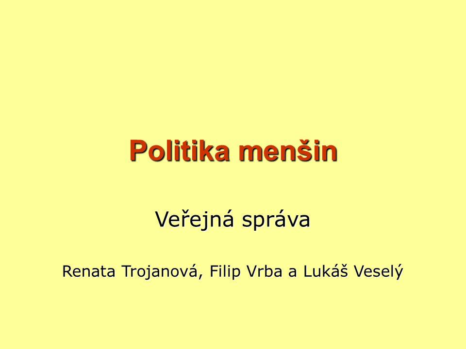 Renata Trojanová, Filip Vrba a Lukáš Veselý