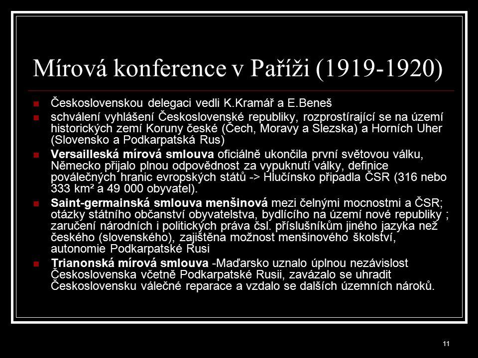 Mírová konference v Paříži (1919-1920)