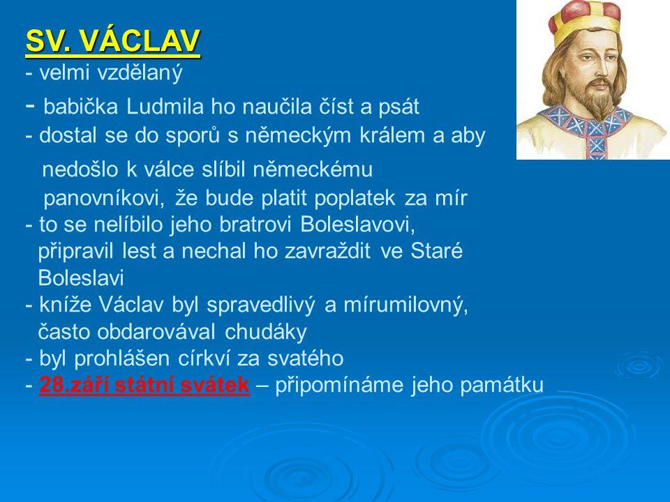 babička Ludmila ho naučila číst a psát