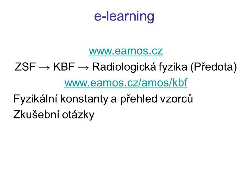 ZSF → KBF → Radiologická fyzika (Předota)