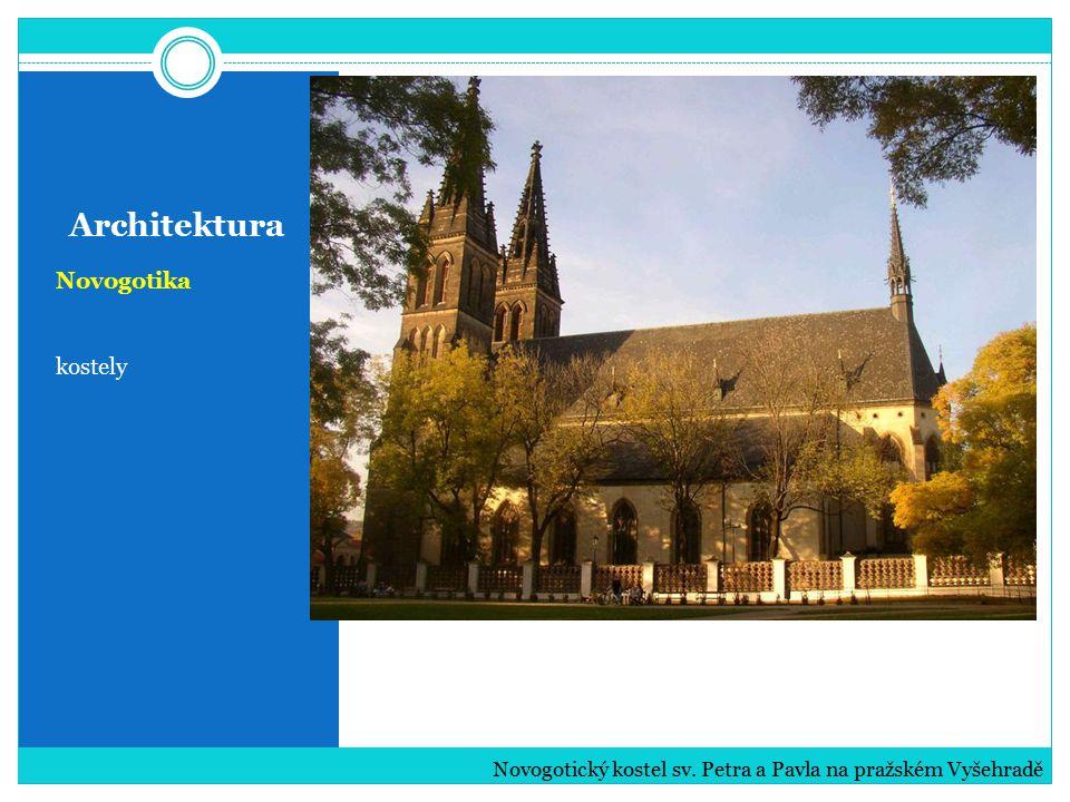 Architektura Novogotika kostely