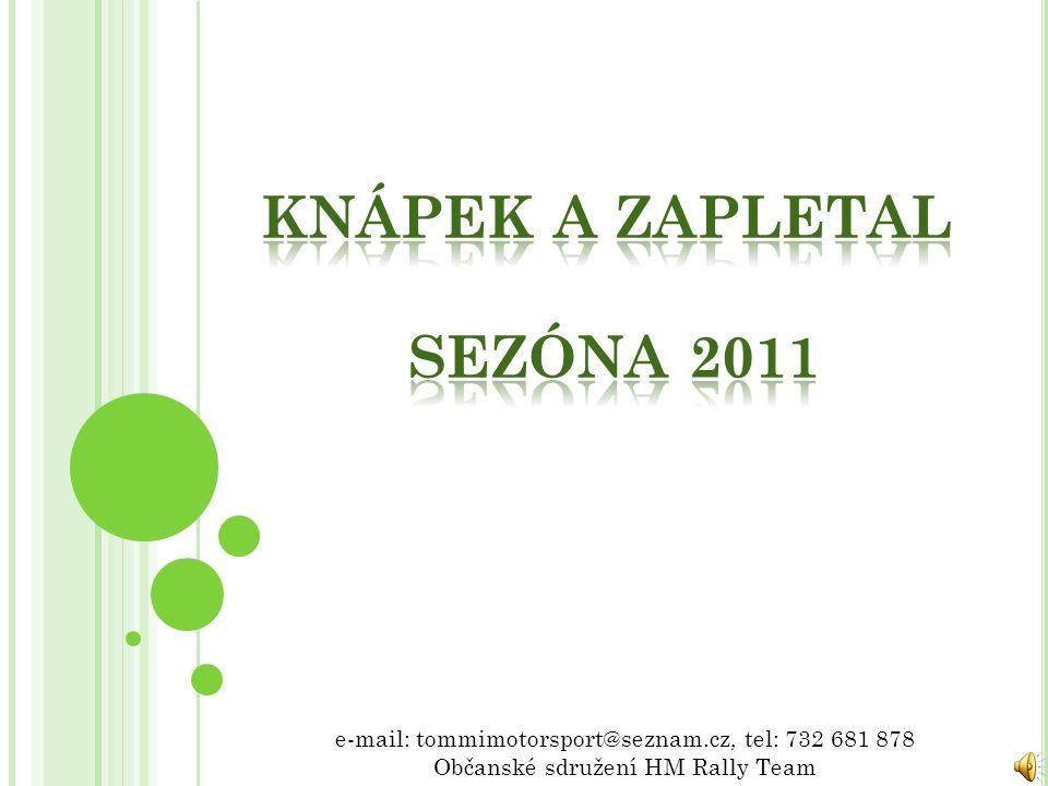 Knápek a Zapletal sezóna 2011