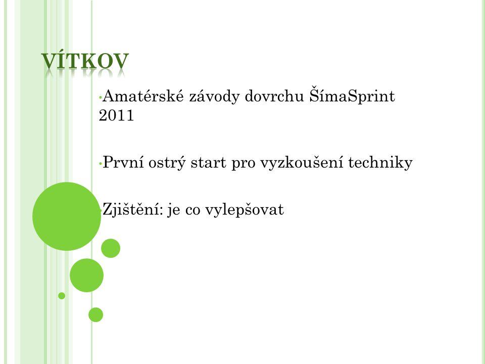 Vítkov Amatérské závody dovrchu ŠímaSprint 2011