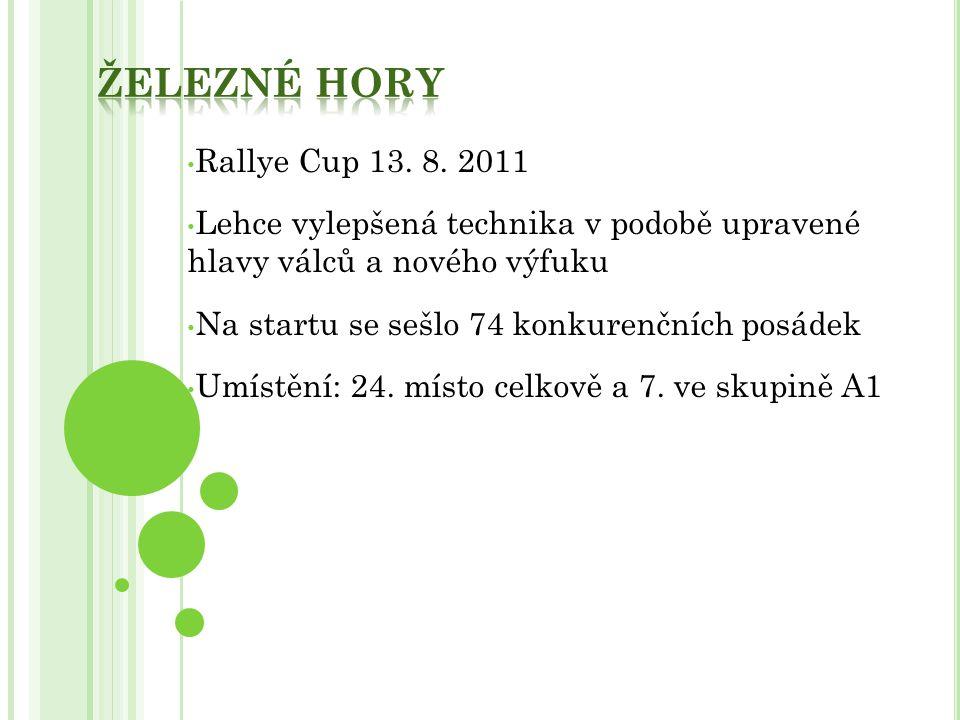 Železné hory Rallye Cup 13. 8. 2011