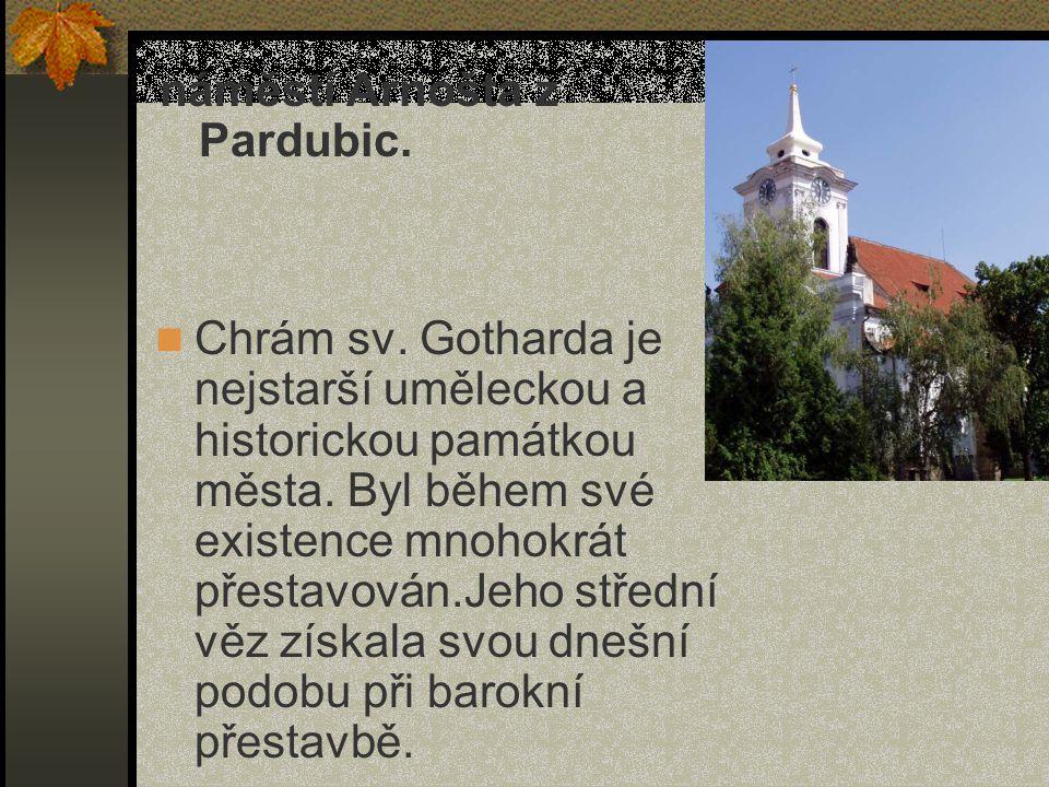 náměstí Arnošta z Pardubic.