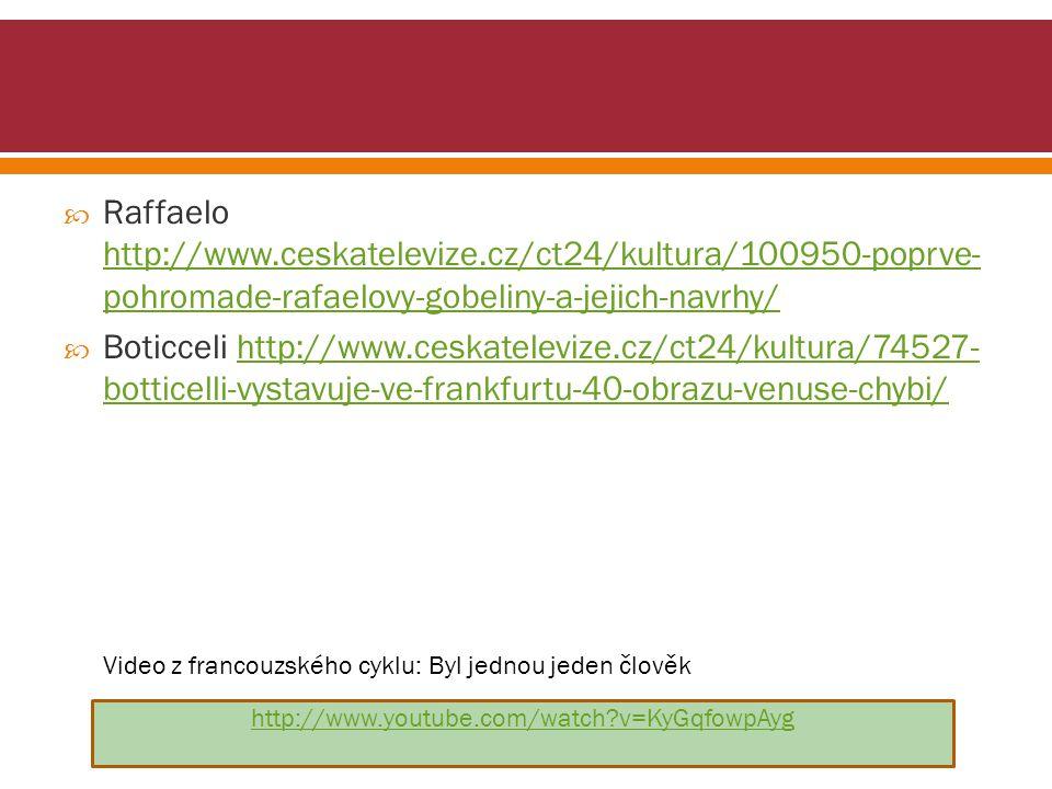 Raffaelo http://www. ceskatelevize