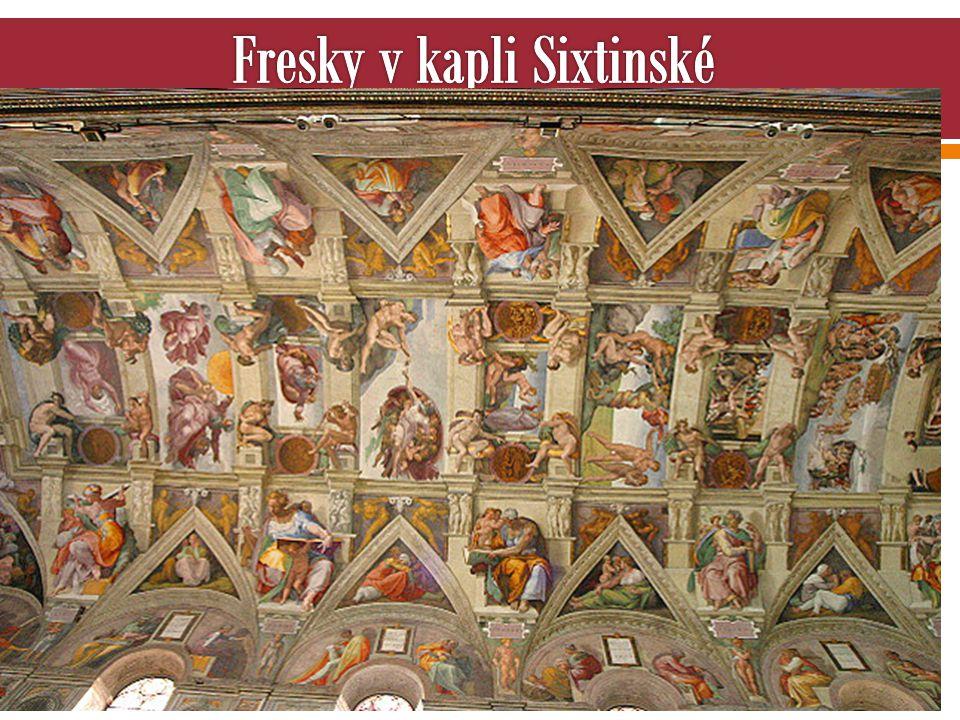 Fresky v kapli Sixtinské