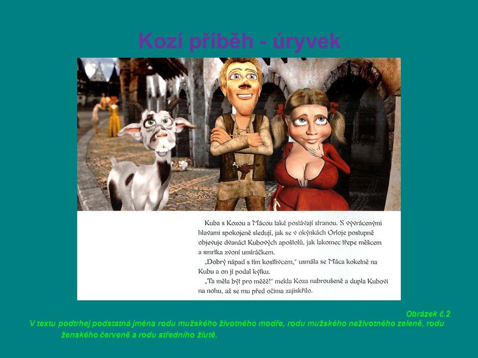 Kozí příběh - úryvek Obrázek č.2