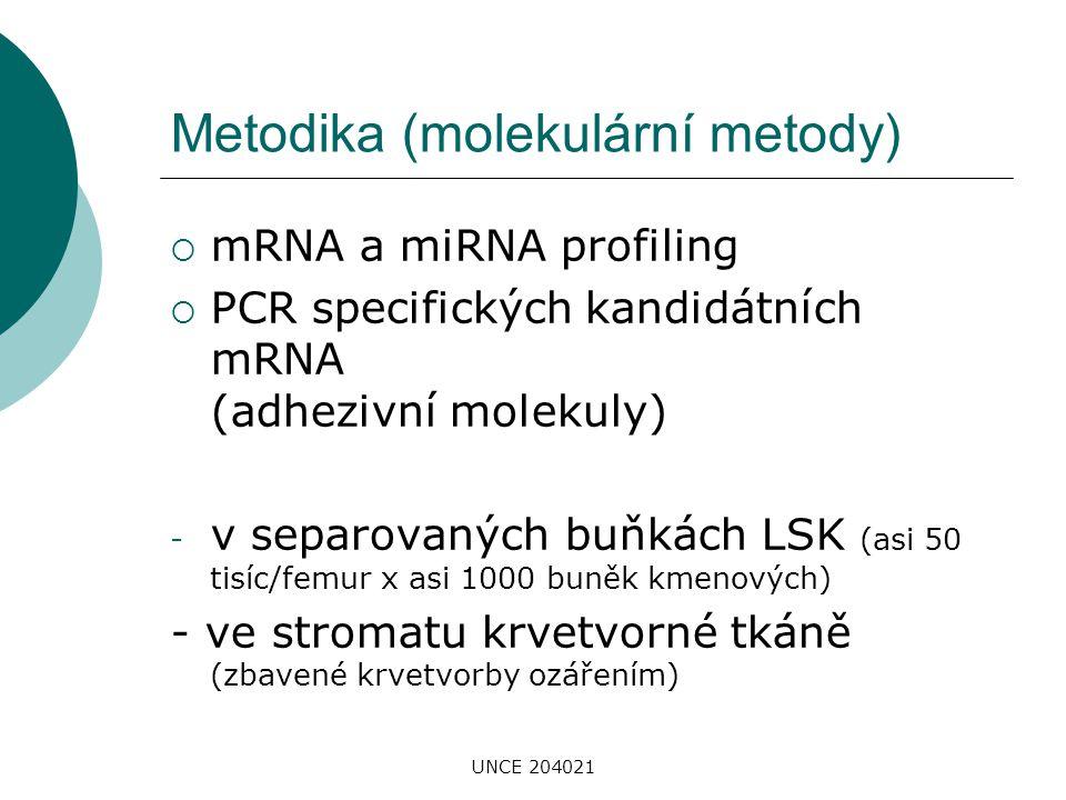 Metodika (molekulární metody)