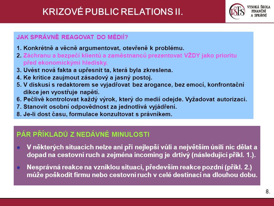 KRIZOVÉ PUBLIC RELATIONS II.