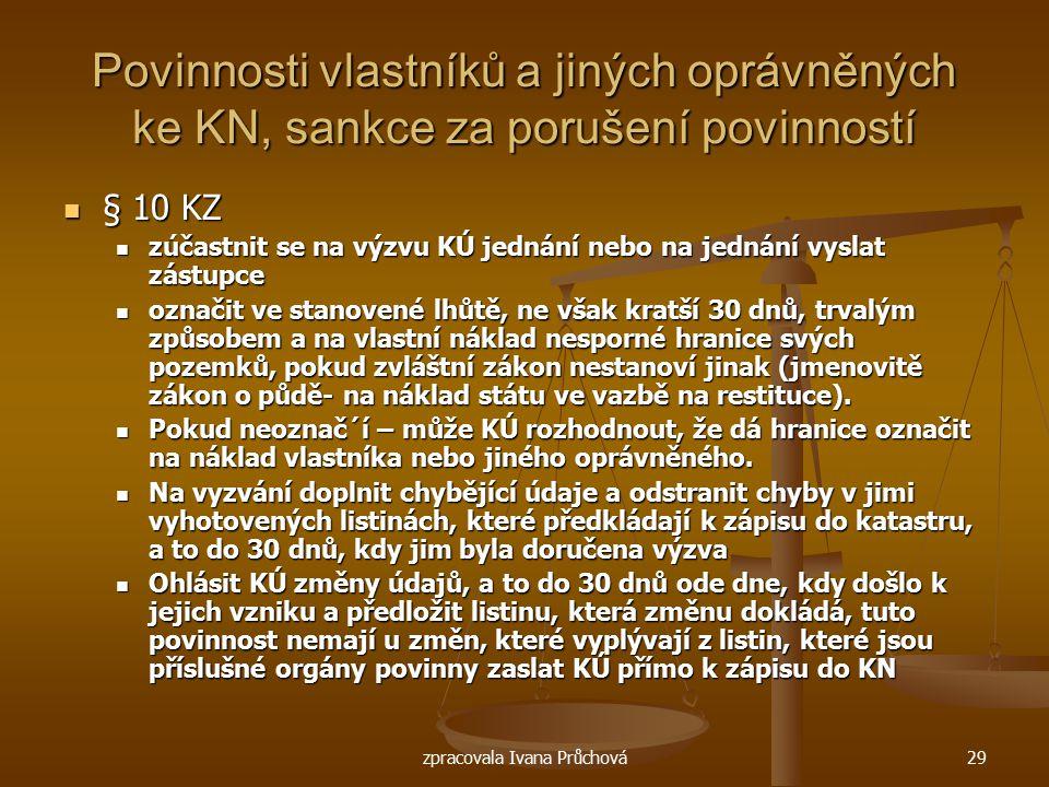 zpracovala Ivana Průchová