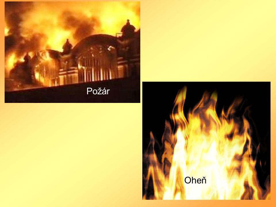 Požár Oheň