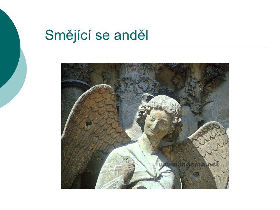 Smějící se anděl