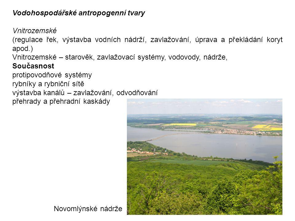 Vodohospodářské antropogenní tvary