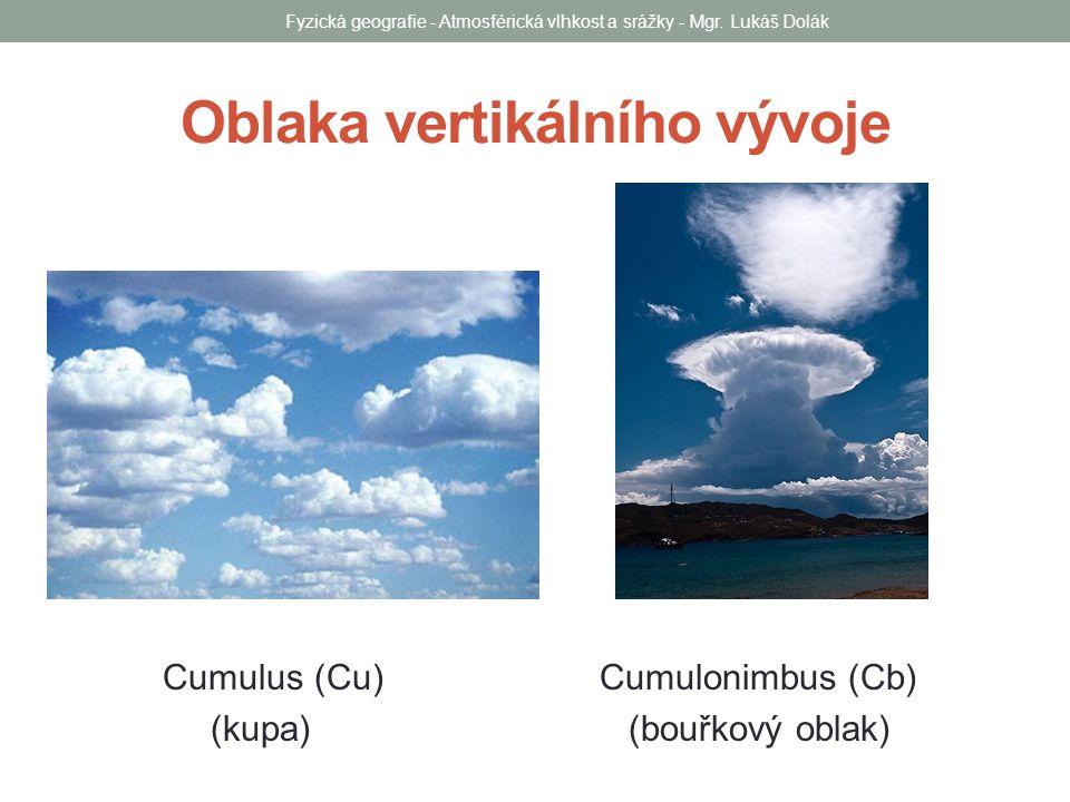 Oblaka vertikálního vývoje