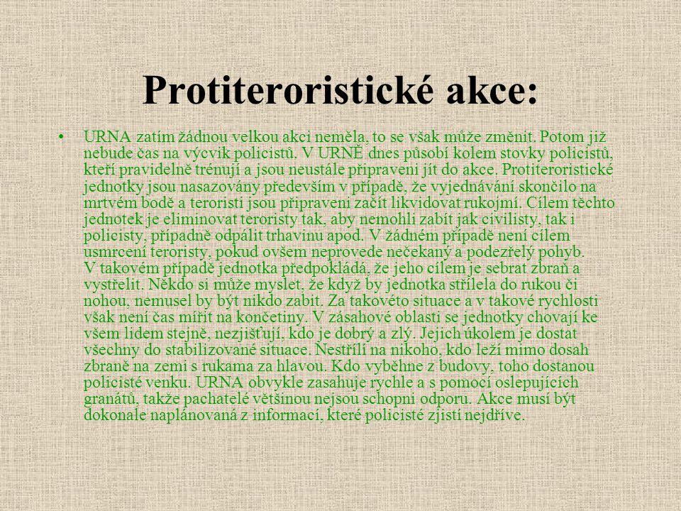 Protiteroristické akce: