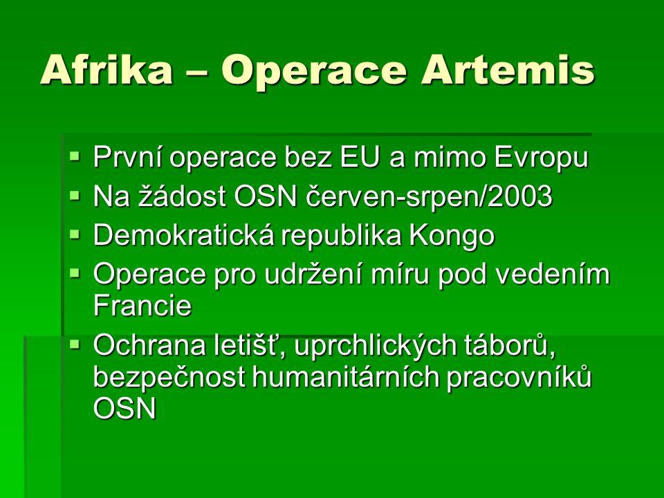 Afrika – Operace Artemis