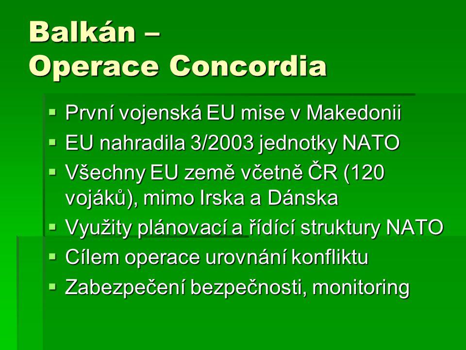 Balkán – Operace Concordia