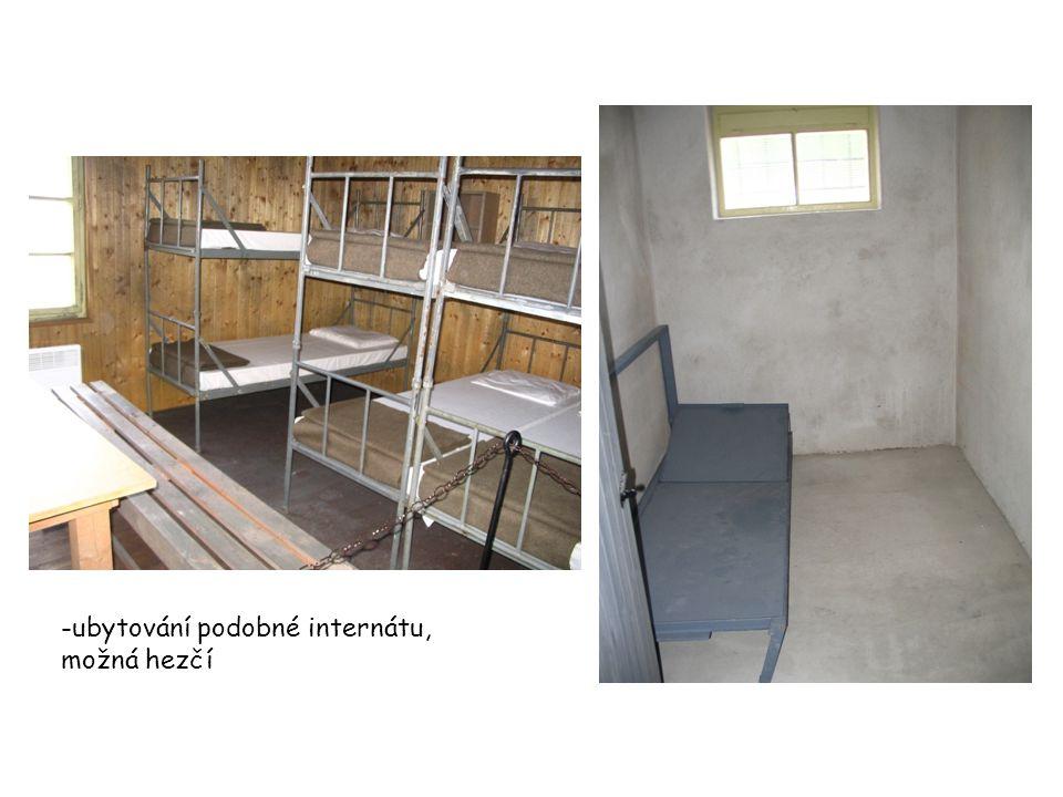 -ubytování podobné internátu, možná hezčí